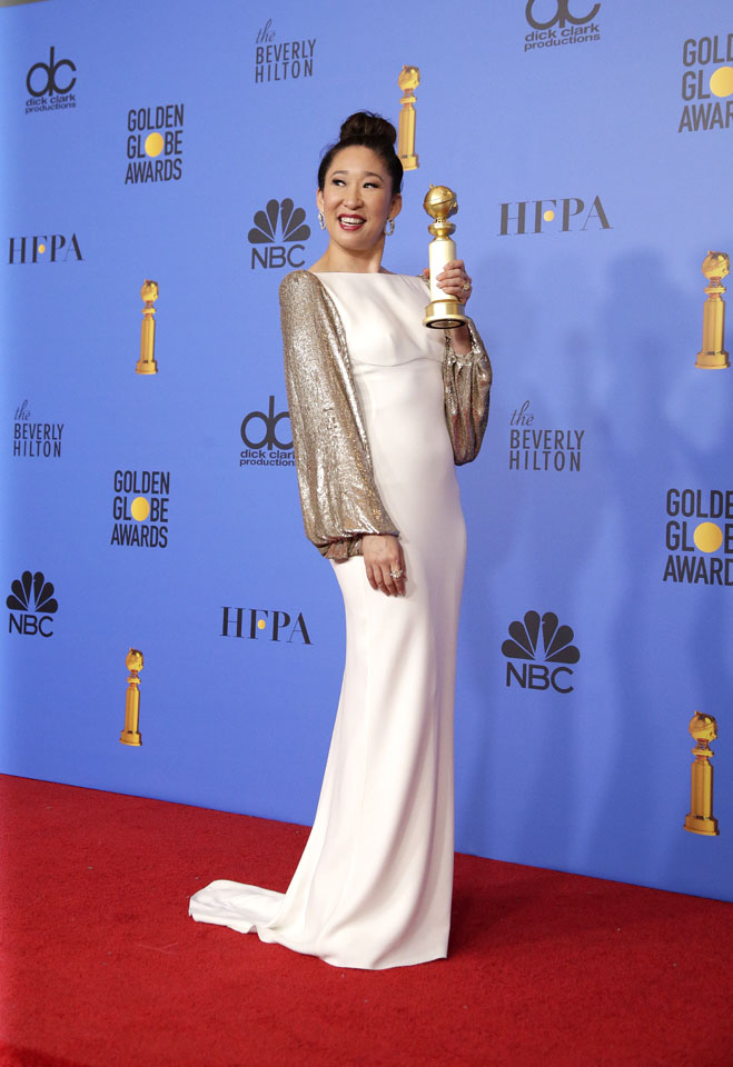 Sandra Oh. Fot. PAP/EPA/MIKE NELSON