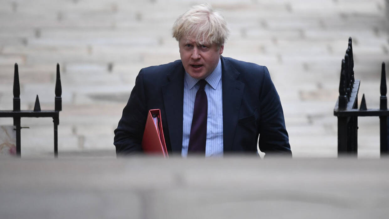 Britain's Foreign Secretary Boris Johnson arrives for a Cabinet meeting at Downing Street in London, Britain, 13 March 2018. Chancellor Philip Hammond is set to announce the state of the British economy in his Spring Statement at Parliament.  Fot. EPA/NEIL HALL