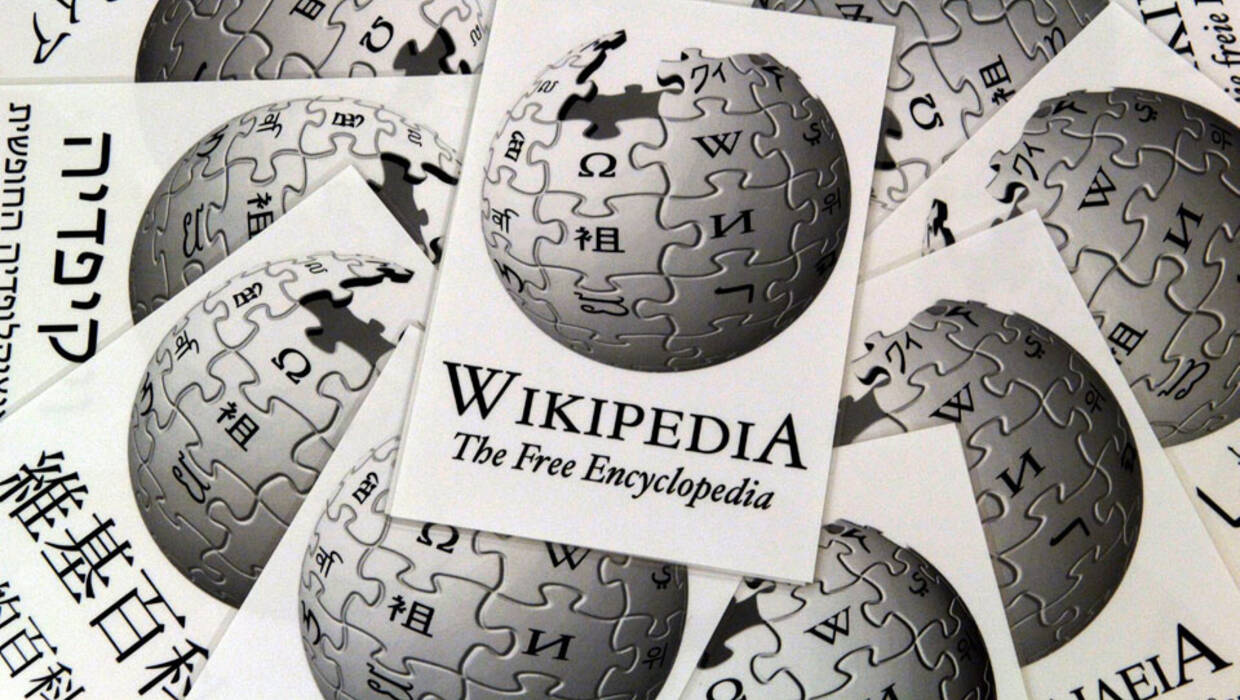 The picture shows the writing and logo of the internet cyclopaedia 'Wikipedia' in several languages at the 'First International Wikimedia Conference' in Frankfurt, Germany, Friday 5 August 2005. In only four years the free online work of reference conquered the globe. Wikipedia has more than two million entries in more than 60 languages, just in German there are 270,000 articles. Until Sunday 7 August 2005 the Wiki community will discuss its future at the international conference in Frankfurt, Germany.  EPA/BORIS ROESSLER