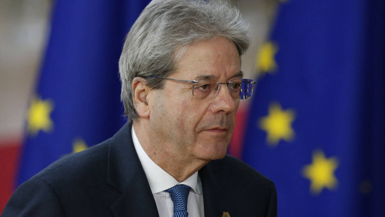 Italian Prime Minister Paolo Gentiloni arrives for the European Council meeting in Brussels, 22 March 2018. Archiwum fot. PAP/EPA/JULIEN WARNAND
