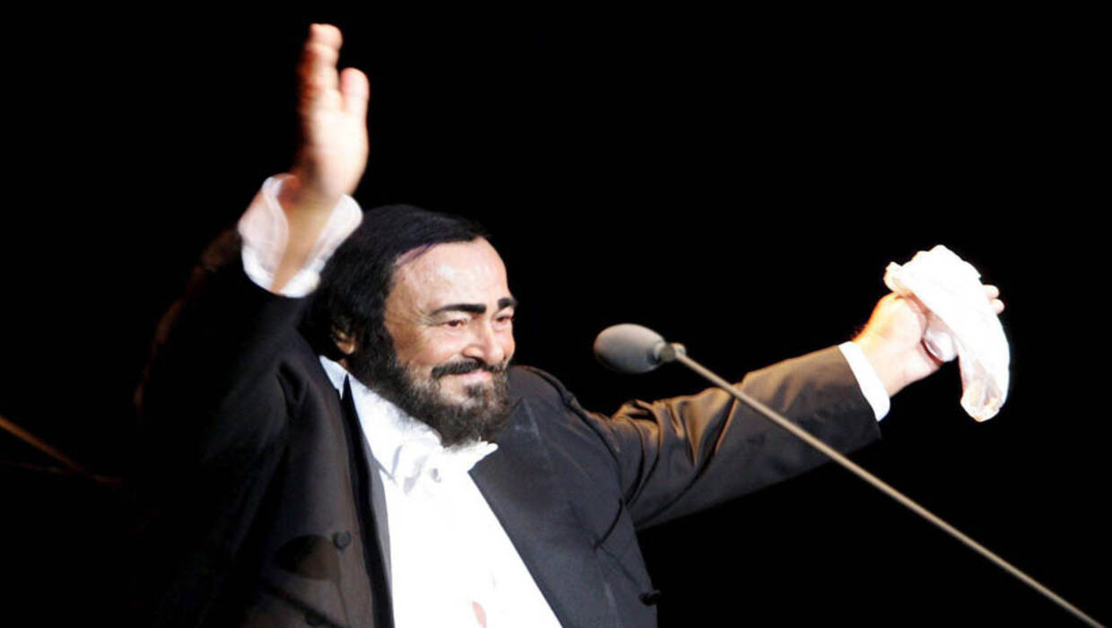 Luciano Pavarotti. Fot. PAP/EPA/ULRICH PERREY