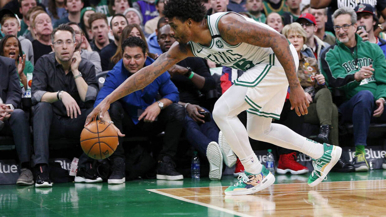 Koszykarz Boston Celtics Marcus Smart. Fot. PAP/EPA/CJ GUNTHER SHUTTERSTOCK
